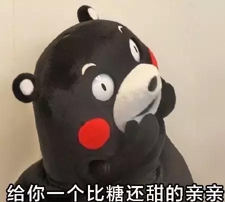 熊本熊可爱萌萌的高清,我这有糖吃哟表情包表情a高清的图片