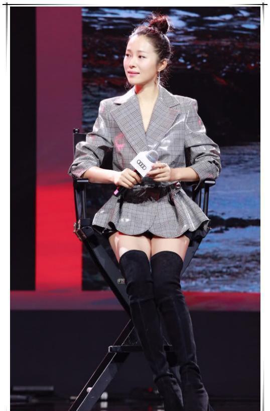 靴子再长都不要把它当成裤子穿,否则会像江一燕这样满屏尴尬的!