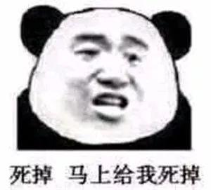 斗图表情包:熊猫头怼人表情包图片