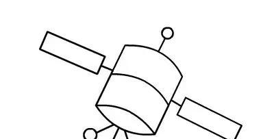 师讯网推荐——幼儿园儿童简笔画教程:火箭 卫星(画法