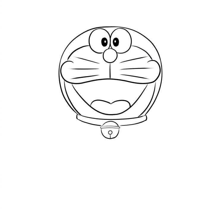 哆啦a夢簡筆畫