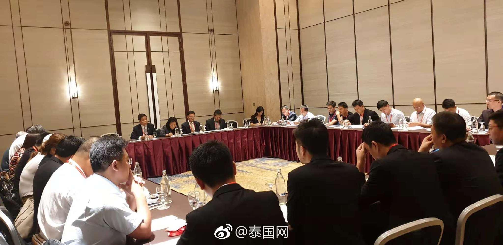 泰国中国企业总商会 2018年度会员大会参会会