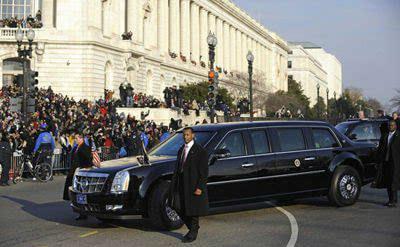 各国领导人座驾PK,特朗普的最豪华