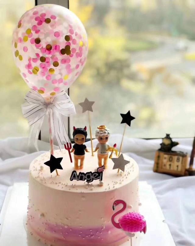 十二星座可爱蛋糕,好想把白羊座的蛋糕吃了,萌翻啦