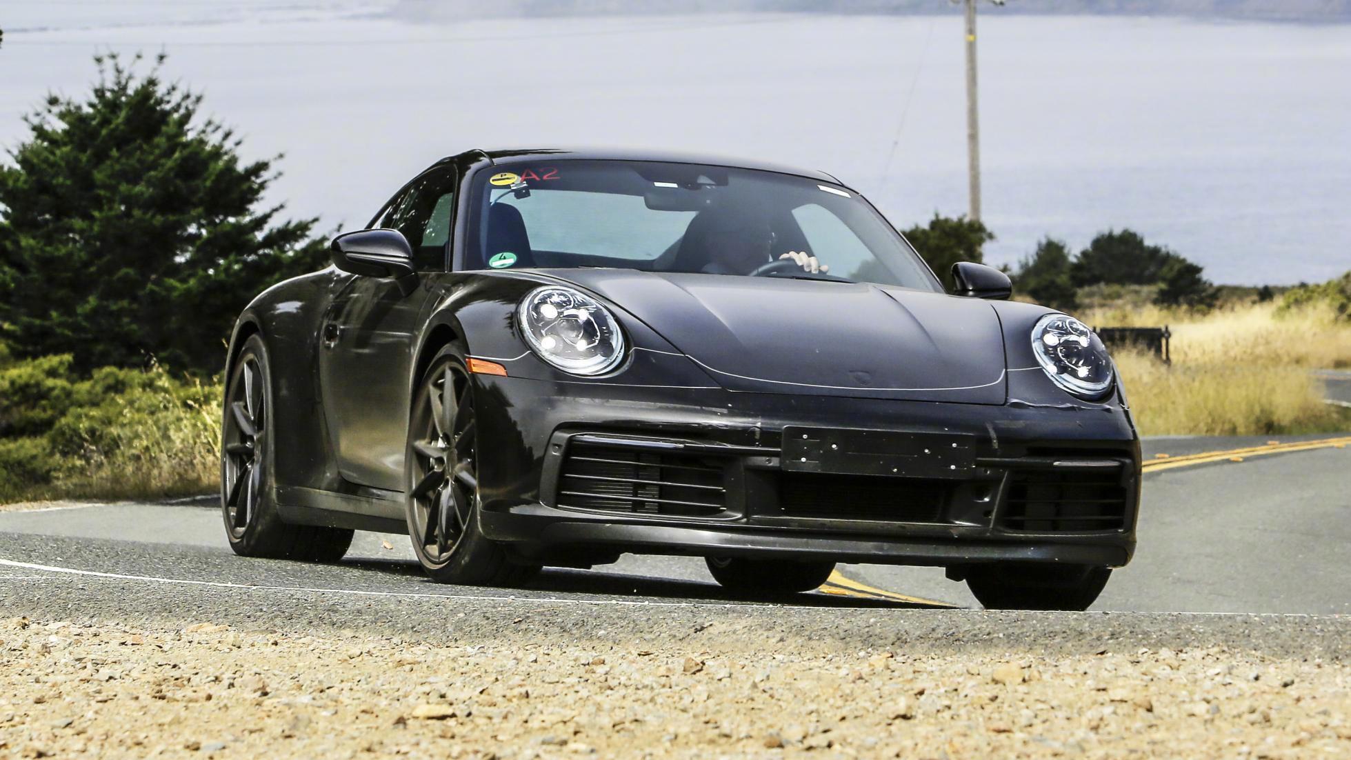 全新保时捷911美国路试 新车会有混动版本出现吗