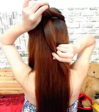 女孩编发发型教程 女生头发这样编美极了