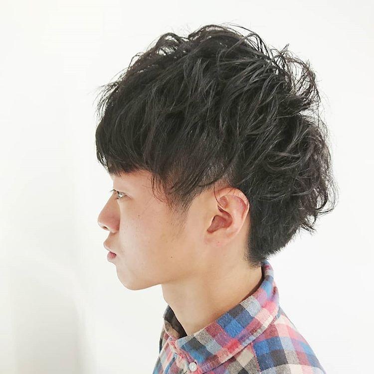 男士烫发造型,2018夏季很流行发型头发软怎么做男生图片