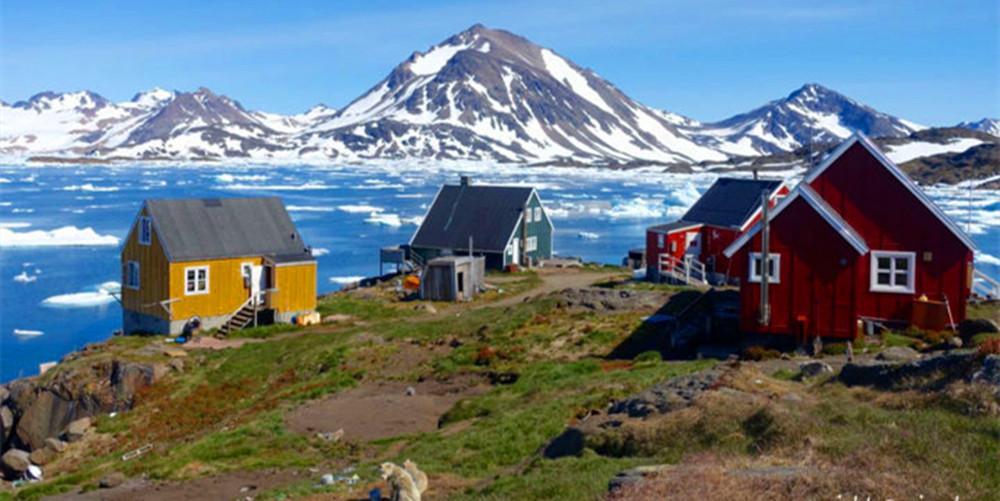 围观:面积比青藏还大的格陵兰岛,有人说离中国