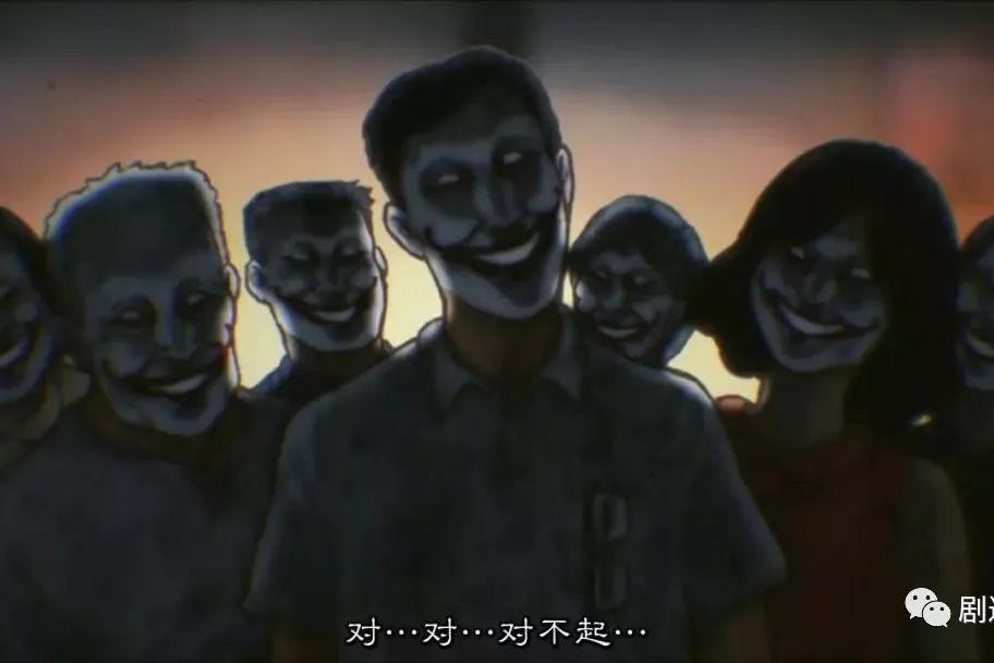 暴走岛国的暴走恐怖故事,其实是抄的这部漫画色系列日本漫画图片
