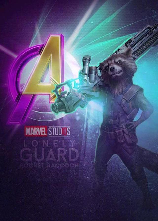 《复仇者联盟4》海报曝光,鹰眼的武士刀贼帅,浩克不再