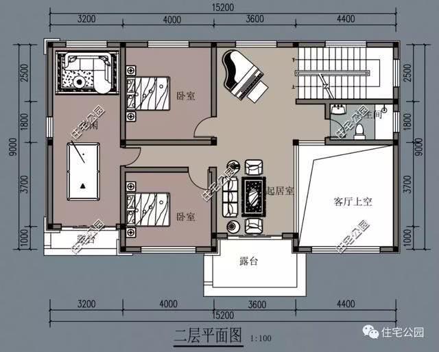 15x9米房子设计图纸
