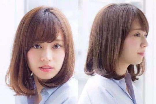 想知道自己适合什么样的发型?各种脸型短,中,长发发型图片
