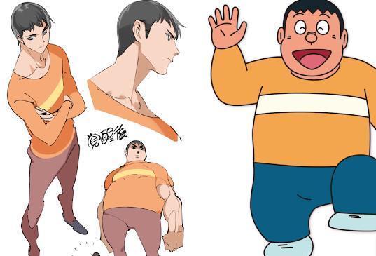 日本最新色情囹�a_当哆啦a梦中的角色长大,大雄超帅,静香真是女神啊