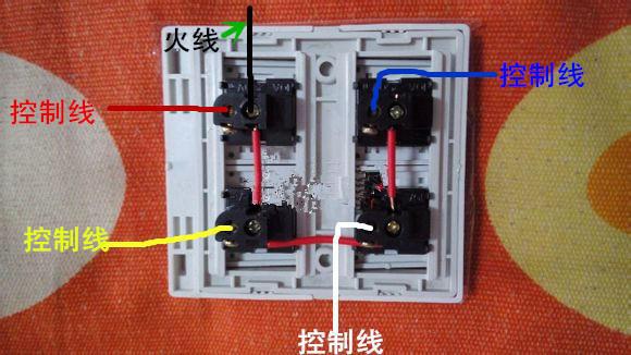 图文详解教你如何安装浴霸的电路