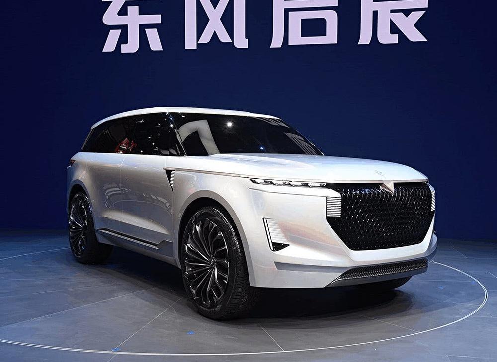 东风启辰全新七座SUV汽车