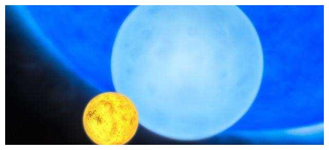 猎户座最亮恒星是太阳的十几万倍,如果代替太阳后果会怎样?