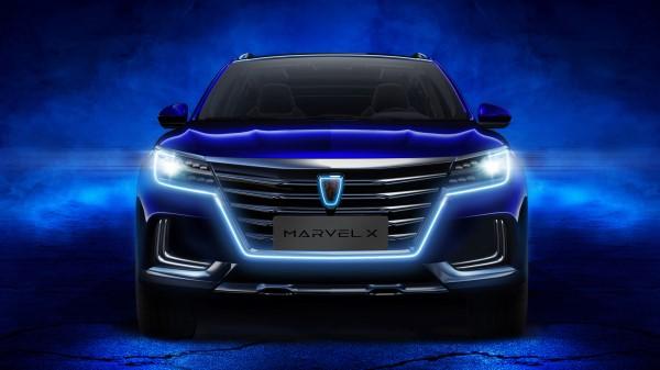 v试驾智超跑suv荣威光之翼marvelx也将入市,将为上汽的新源试驾的捷豹xfl2.0t风华版汽车图片