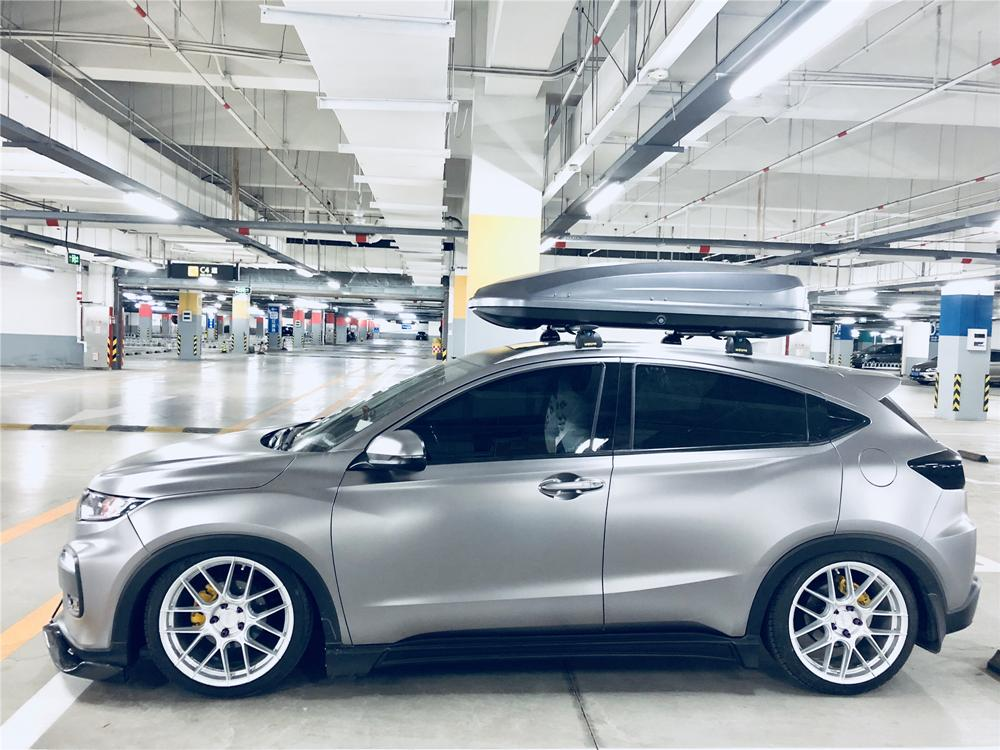 明明是辆SUV却要改成低趴,天津车友的本田XR-V真是