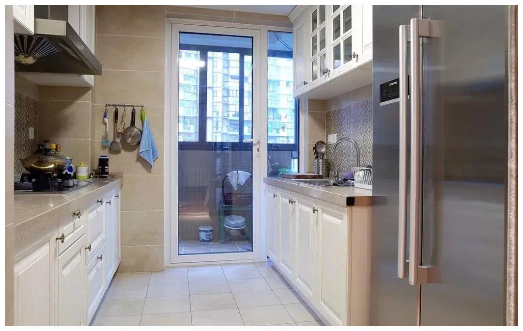 能不能达到原来的 厨房阳台二四配重装修装修厨房