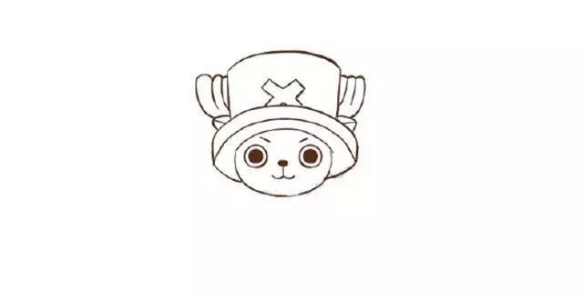 幼儿园儿童简笔画教程:路飞&乔巴(画法详解)-师讯网