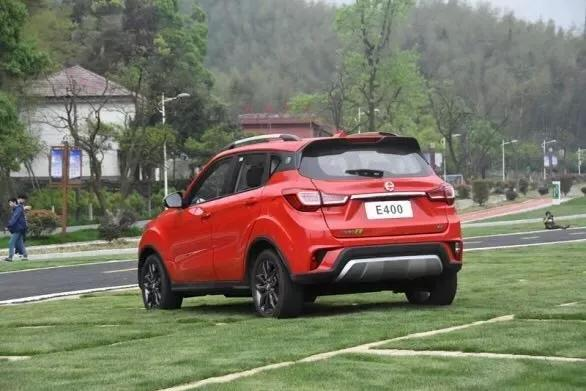 补贴后8.98万元起售,江铃E400上市,进军纯电SUV细分市场