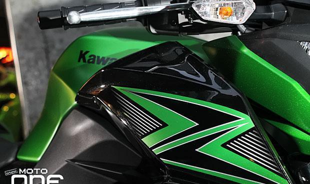 疾走奔驰,帅到没朋友了!川崎Kawasaki Z300摩托街车