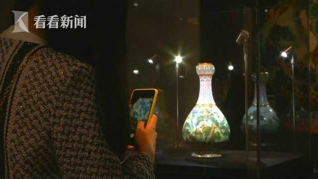 流落法国乾隆花瓶今拍卖 专家:就一件 精美无比