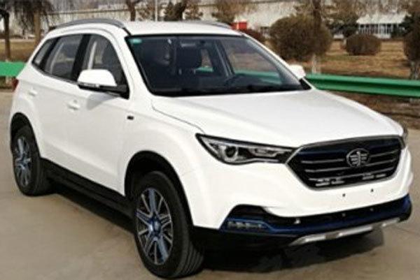 奔腾X40纯电动版车型申报图 采用三元锂电池组