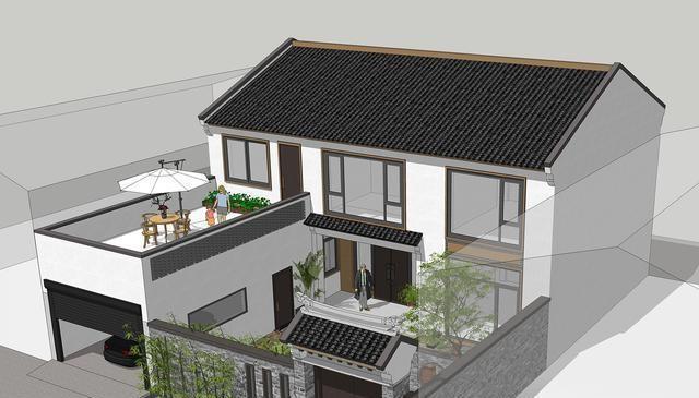 16套两层别墅设计,什么款式都有,快看看你中意哪套?图片