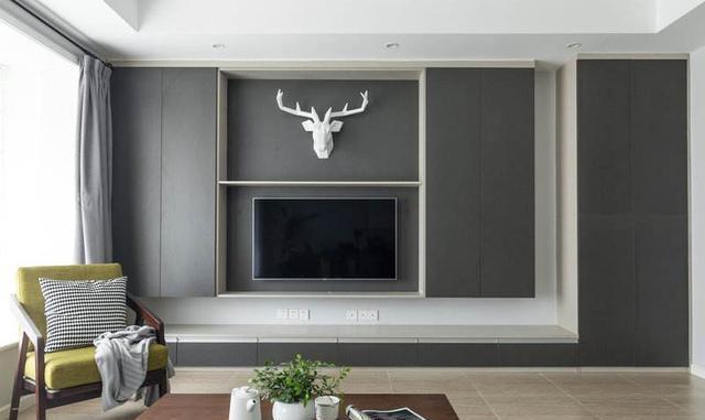 电视背景墙这样设计超好看,更有品位!