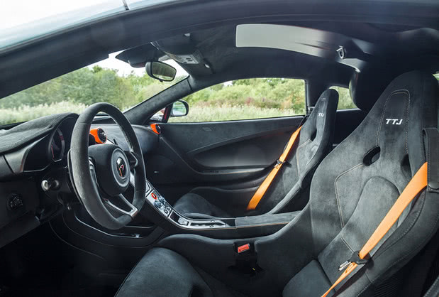 迈凯伦675LT定制版官图发布,新车致敬经典,橘红设计很带感!