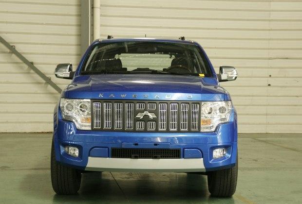 国产版悍马, 前置后驱+非承载式车身, 9万起