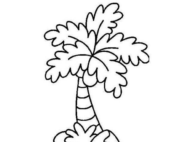 10款树木主题简笔画,家长请收好 助孩子绘画植物树木,涨知识