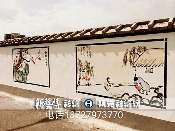 艺博手绘墙画:中国美术学院高级设计师匠心独具