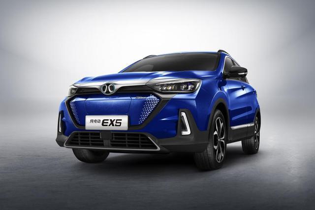 EX3量产车型首发!北汽新能源将携全系车型亮相广州车展