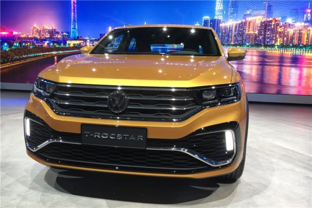全新SUV概念车T-ROCSTAR完成了自己在我国市场的首秀