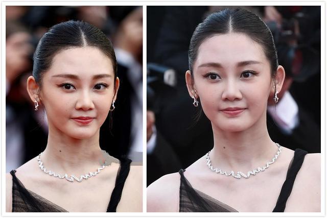 香港电影节女星未修图和ps图对比,看看谁的差别最小戛纳电影a女星图片