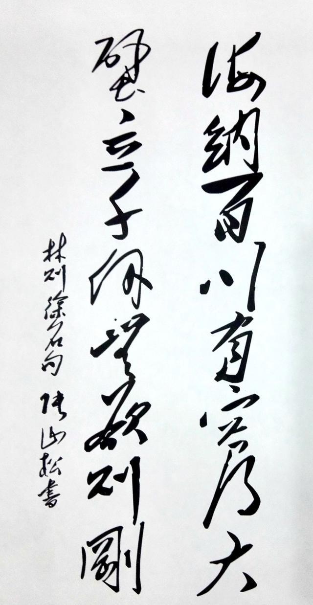 著名诗人书法家张山松作品欣赏
