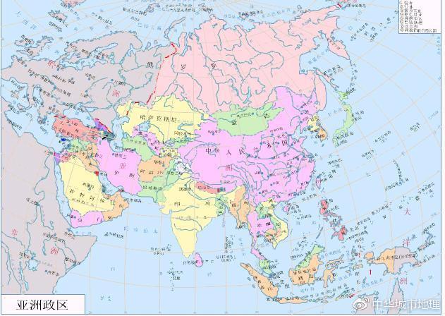 亚洲国家_亚洲最大和最小的国家