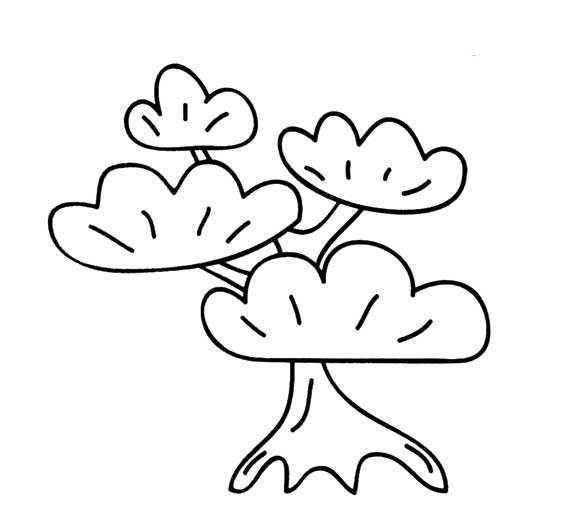 10款树木主题简笔画,家长请收好!助孩子绘画植物树木