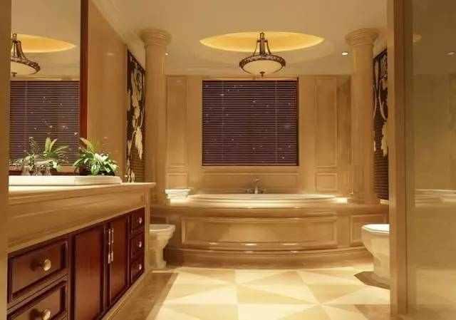 简单几步打造你的卫生间,在家就能享受五星级酒店待遇