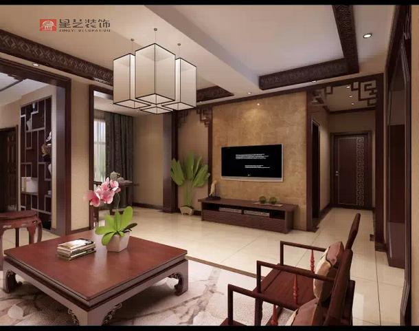 中航城风格加建200平中式别墅装修设计效果图别墅紫金县图片