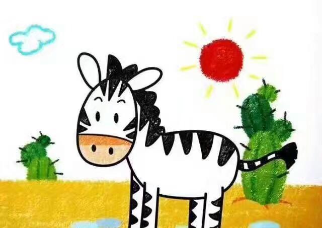幼儿创意绘画|不一样的蜡笔画,简单又好画,我们一起动手吧!