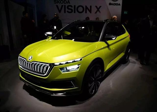大众旗下的斯柯达发布了全新的SUV——vision X