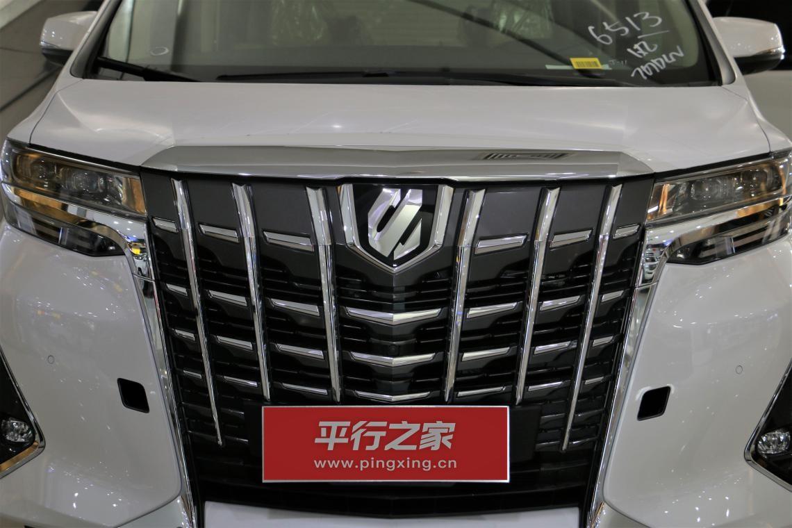 2019款丰田埃尔法到店实拍图解 MPV皇者 加价之姿势不可挡
