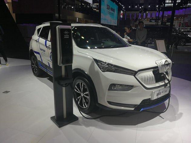 海马E5纯电动SUV亮相 综合续航里程450km