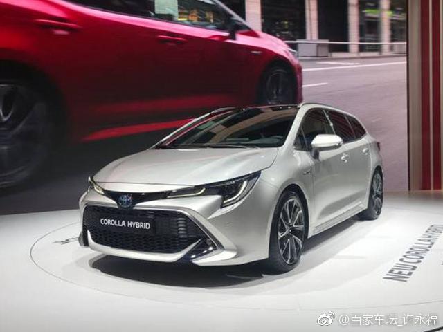 丰田全新卡罗拉旅行版正式亮相,新车采用TNGA架构GA-C平台打造