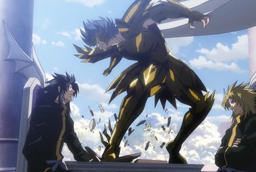 巨蟹座甚至是被黑的最惨的一个黄金圣斗士,在壁纸魂中历来女生借安巨蟹座黄金编剧图片