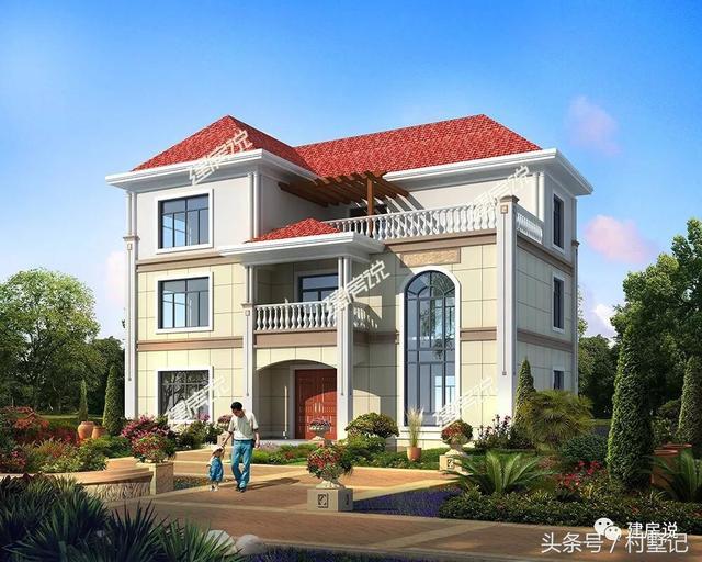 【建房说】100款最新农村别墅设计图,风格齐全!建议收藏