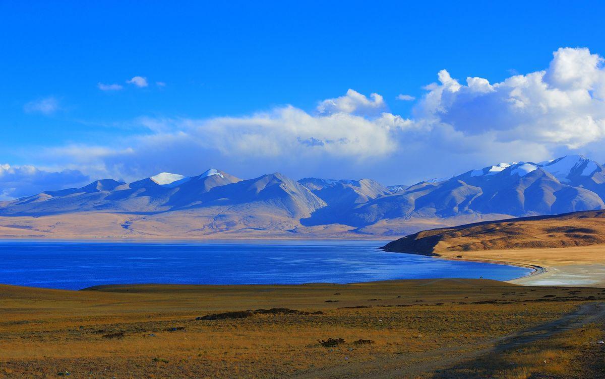 玛旁雍措_亚洲四大河流的发源地的玛旁雍措, 美到极致!